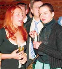 ЛАРИСА СМЕРТИНА: своими нарядами и впечатляющим бюстом &#034уела&#034 жен русских миллиардеров