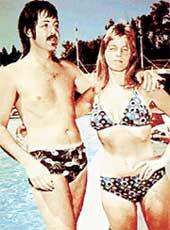 НА ВОДНЫХ ПРОЦЕДУРАХ (1968 г.): Пол и Линда готовы к серьезным отношениям