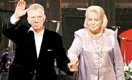 ЭДУАРД ПАВУЛС И ВИЯ АРТМАНЕ: вместе отмечают 75-летие