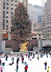 ГЛАВНАЯ ЕЛКА АМЕРИКИ: в 2002 году ее доставил в Нью-Йорк &#034Руслан&#034 Черного
