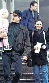 1994 ГОД: Катя Гордеева с Сергеем Гриньковым и дочкой Дашей
