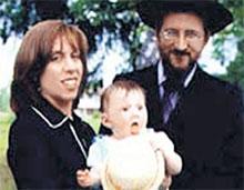 ХАНА И БЕРЛ: с дочуркой Ривкой