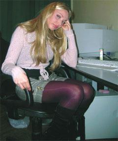 ДО - На кино- и фотопленке я выгляжу слишком толстой, - горевала Катя.