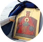 ИКОНОСТАС: Божья Матерь Державная оберегает Святую Русь