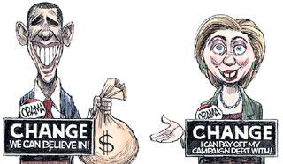 ...что Клинтон продалась Обаме за $22 млн.