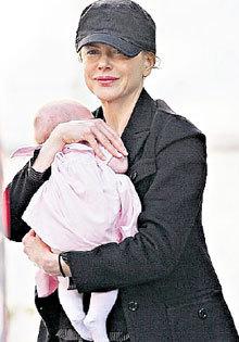 Николь Кидман родила дочь благодаря диете