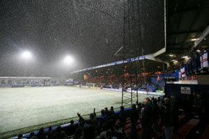 Лишь 8 минут продолжался матч между командами «Luton» и «Bournemouth»