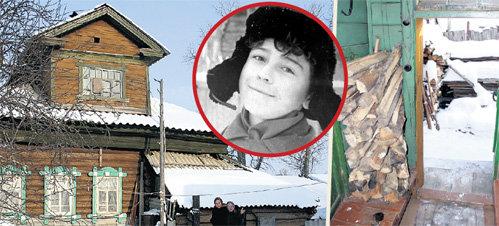 В этом доме на улице Карпушинской, 11 семья ЛЕОНТЬЕВЫХ прожила несколько лет. Со времён детства Валеры (на фото в круге) ничего не изменилось, жильцы по-прежнему топят печь дровами