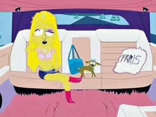 Пэрис ХИЛТОН в мультфильме «Южный парк» кого-то очень напоминает