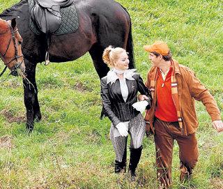 Калинин с любимой женщиной Кристиной (Мария МАКСАКОВА)