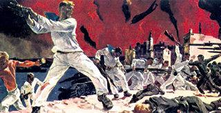 Александр ДЕЙНЕКА «Оборона Севастополя». 1942 год. Сегодня за Крым тоже есть кому постоять
