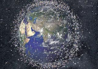 Звёздных войн удастся избежать, только если окружить планету мусором