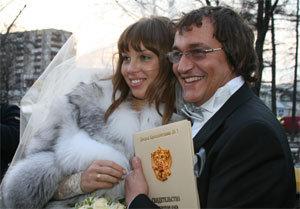 Дмитрий ДИБРОВ с невестой Полиной