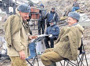 На съёмках картины «Сволочи» КРАСКО подружился с тёзкой ПАНИНЫМ
