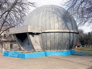 Шарообразный планетарий МАЦИНИНА по своей форме - второй в мире