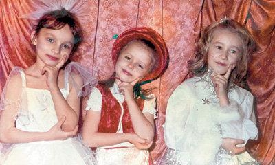 С подружками Аней и Светой