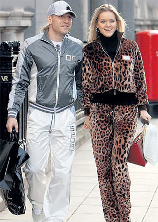 По мнению британских репортёров, у ВОРОНИНА и его жены отсутствует вкус в одежде