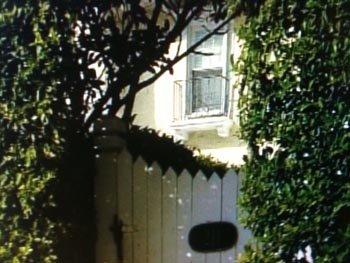 Из этого окна оставшийся один дома малыш выпрыгнул на землю. Фото: wptv.com