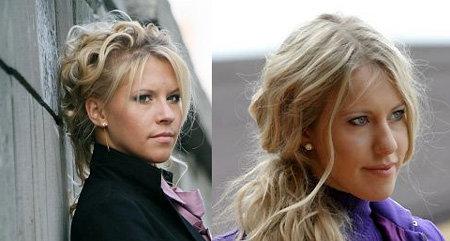 Слева - Анна, справа - Ксения