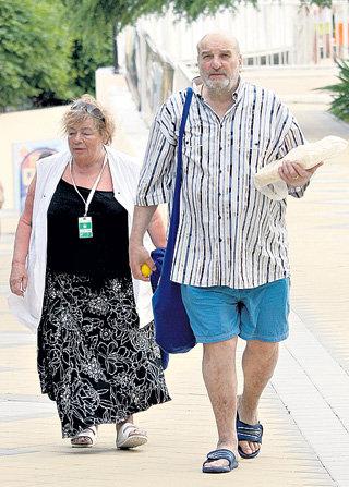 Алексей ПЕТРЕНКО со второй женой Галиной КОЖУХОВОЙ. Галина Петровна скончалась в октябре минувшего года