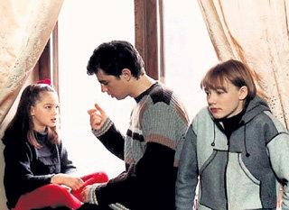 На съёмках фильма «Сёстры» с Сергеем БОДРОВЫМ и Оксаной АКИНЬШИНОЙ