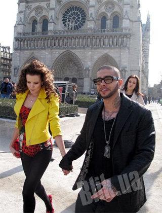 Влюблённые бродили по Парижу, словно молодожёны во время медового месяца