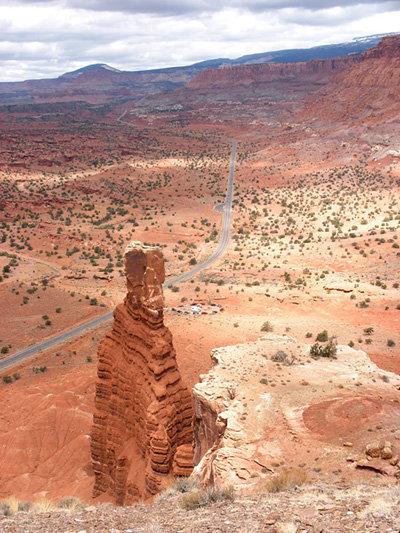 Окаменелые останки были откопаны в национальном заповеднике Красные скалы