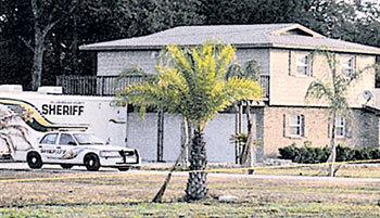Дом Шара КРАСНИКАЯ, возле которого был найден труп