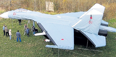Резиновый самолёт не летает, но боевые задачи решает