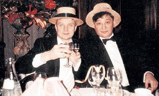У Александра Борисовича и его друга и мецената Алика Тайванчика одни и те же музы