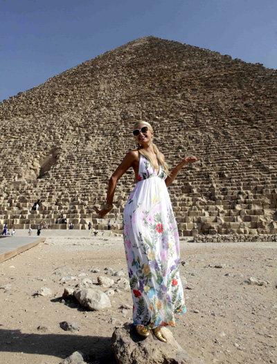 Пэрис - египетская мумия