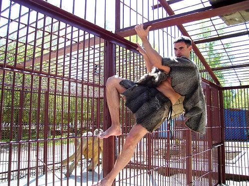 Человек-экспонат (фото asfera.info)