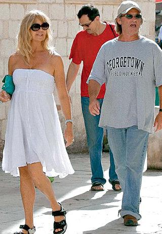Голди ХОУН и Курт РАССЕЛ были потрясены красотами Дубровника