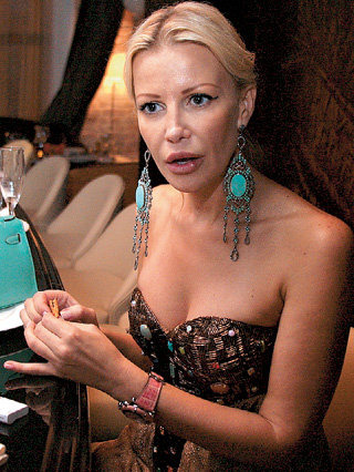 Ксения МЕРЦ смогла при разводе с олигархом отвоевать дочь, но миллионов откупных при этом не получила