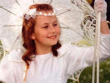 Наташа КАМПУШ в 8 лет