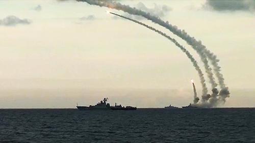 Первое в истории России боевое применение крылатых ракет Источник: mil.ru