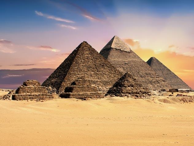 Пирамиды в Гизе. pixabay.com