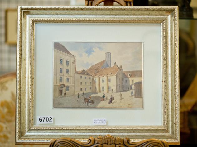 ВГермании выставили нааукцион сразу 14 картин Гитлера