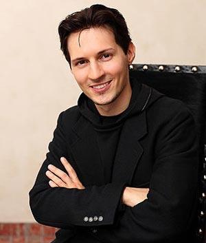 Павел Дуров. wikimedia