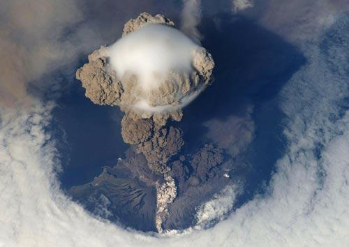 Извержение вулкана. pixabay.com