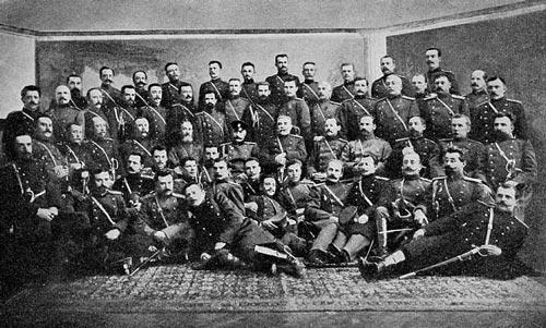 Офицеры 121-го Пензенского полка. Wikimedia