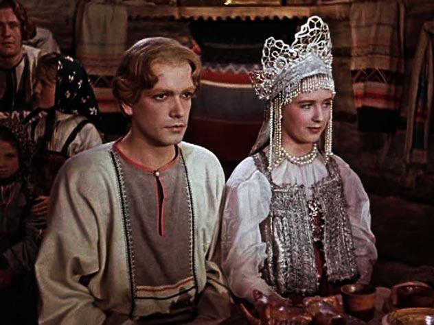 Кадр из фильма «Каменный цветок» (1946 г.)