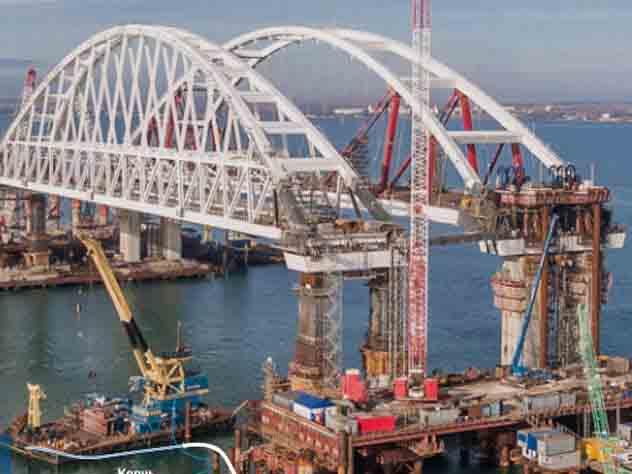 Воронежцам посоветовали выбрать название для моста вКрым