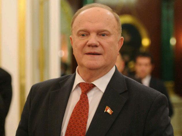 КПРФ неисключает альтернативу Зюганову напрезидентских выборах