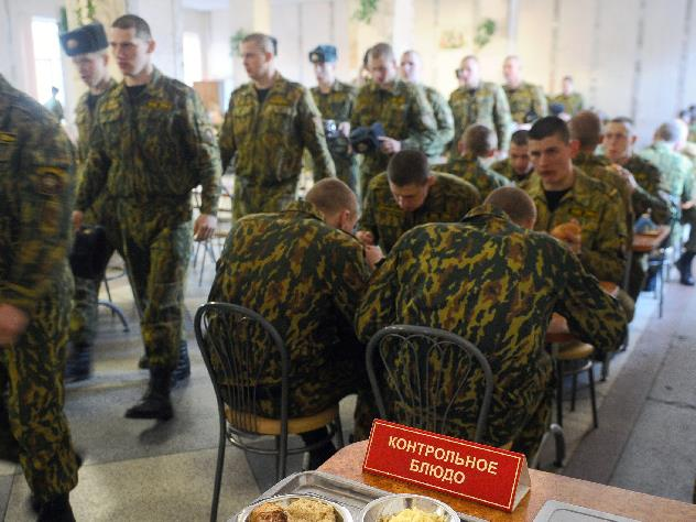 Жирных военных выгонят из русской армии