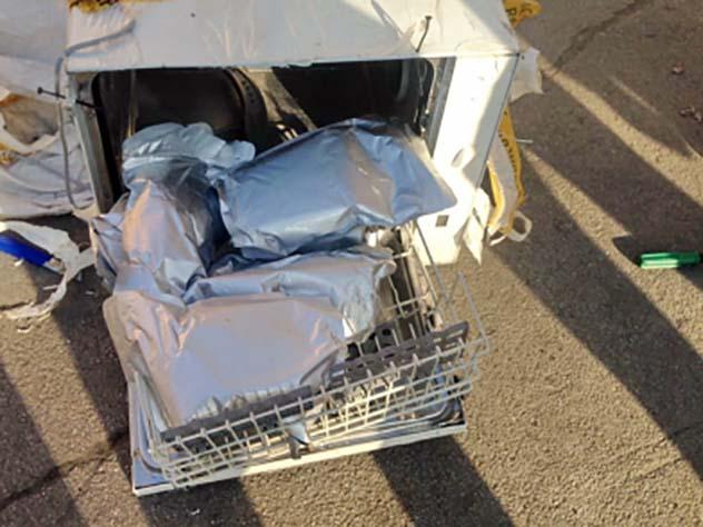 Сибиряк получил попочте посудомоечную машину с«синтетикой»