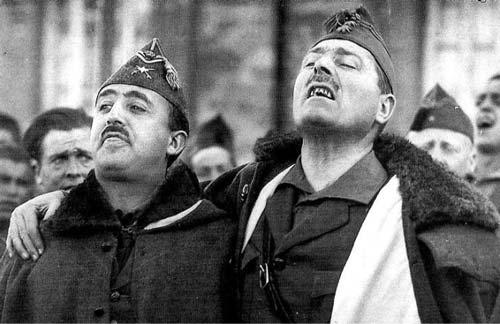 Франко и Хосе Мильян – победители в знаменитой Гражданской войне. jotdown.es