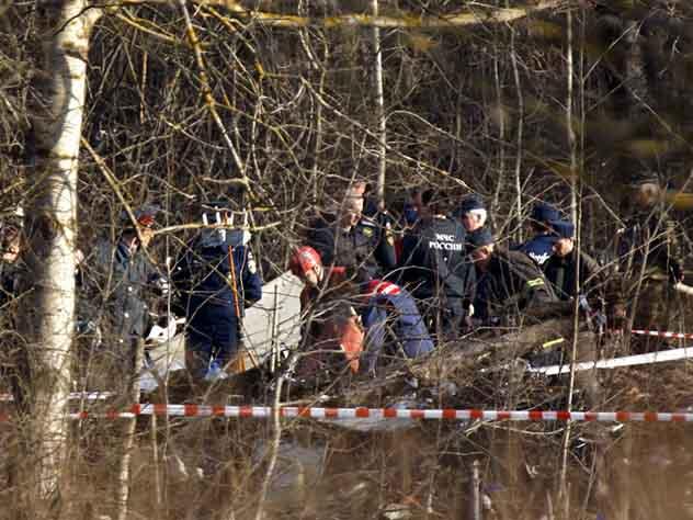 Польша якобы обнаружила следы взрывчатки на фрагментах самолета президента страны
