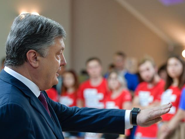 Мечтательный Порошенко видит в 2030 году Украину в ЕС и НАТО