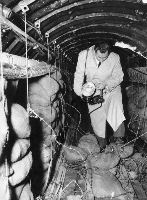 Фотофиксация действий американцев Берлинском тоннеле, 1956 год. Источник: wikimedia.org